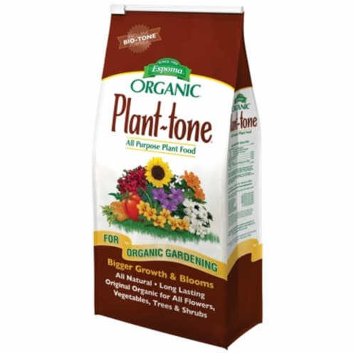 Espoma Organic 36 Lb. 5-3-3 Plant-tone Dry Plant food PT36 Perspective: front