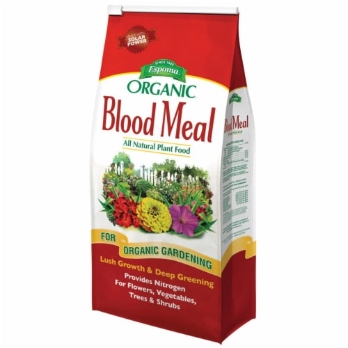 Espoma Blood Meal Granules Organic Plant Food 3 lb. - Case Of: 1; Perspective: front