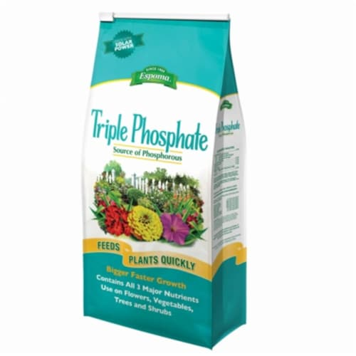 Espoma Triple Phosphate Granules Plant Food 6.5 lb. - Case Of: 1; Perspective: front