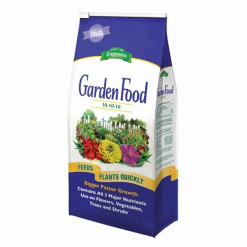 Espoma Garden Granules Plant Food 6.75 lb. - Case Of: 1; Perspective: front
