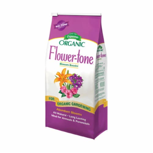 Espoma Flower-tone Granules Organic Plant Food 18 lb. - Case Of: 1; Perspective: front