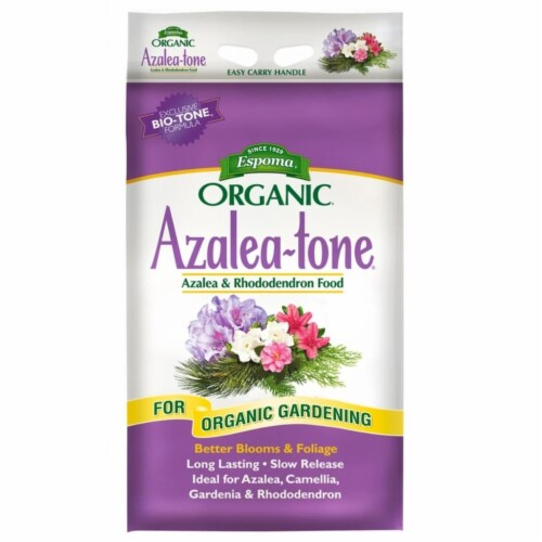 Espoma Organic Azalea-Tone 4-3-4 Plant Food 18 lb. - Case Of: 1; Perspective: front