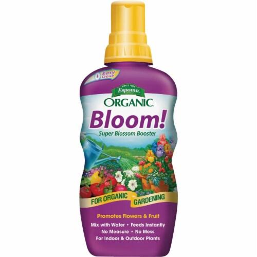 Espoma 7466204 24 oz Bloom Liquid Organic Plant Food Perspective: front