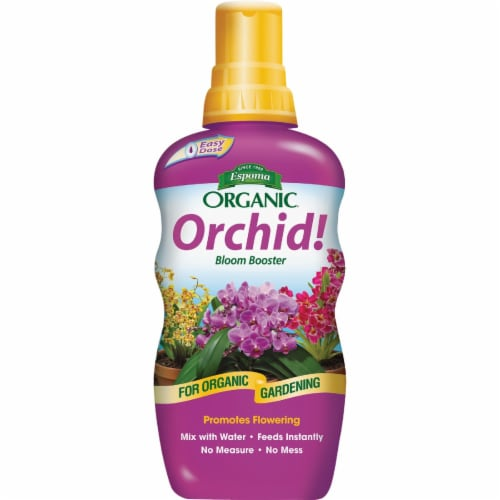 Espoma Organic 8 Oz. 1-3-1 Concentrate Orchid Liquid Plant Food ORPF8 Perspective: front