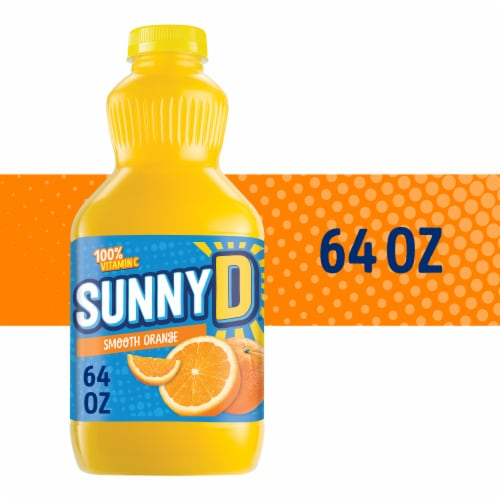 SunnyD Smooth Orange Flavored Citrus Punch Perspective: front