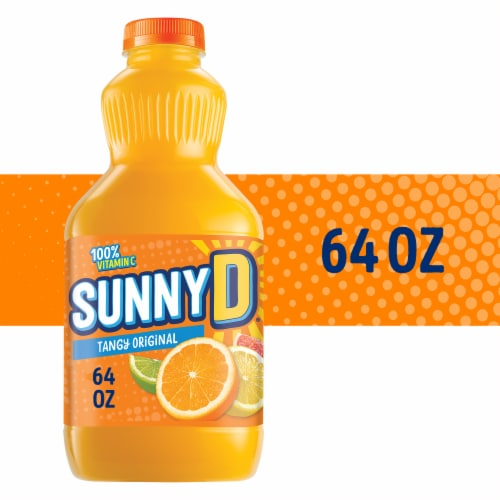 SunnyD Tangy Original Orange Punch Perspective: front