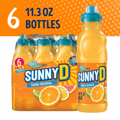Sunny D Tangy Original Citrus Punch Perspective: front