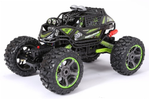 New Bright Terraingers Quad Crawler Toy Vehicle Perspective: front