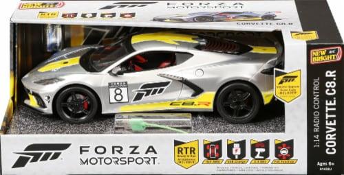 New Bright RC Forza Motorsport Corvette C8.R Perspective: front