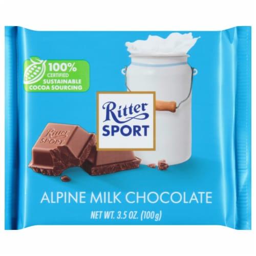Ritter Sport Alpine Milk Chocolate Bar Perspective: front