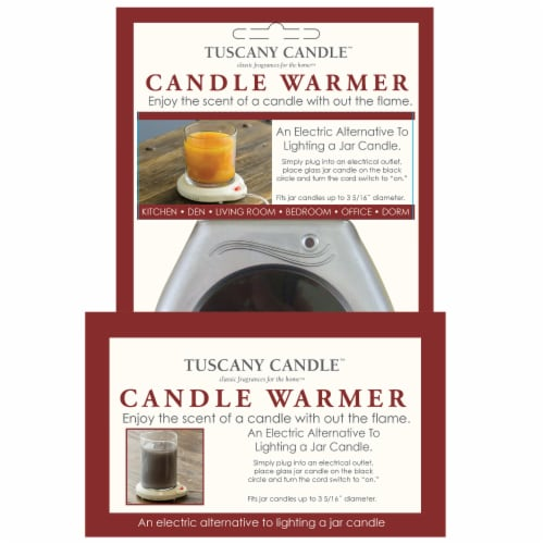 Empire Home Electric Tuscany Candle Warmer Perspective: front