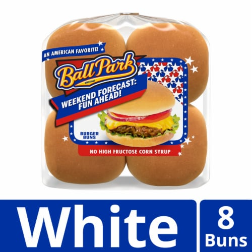 Ball Park Burger Buns Perspective: front