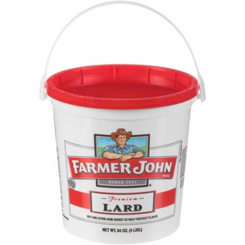 Farmer John Premium Lard Perspective: front