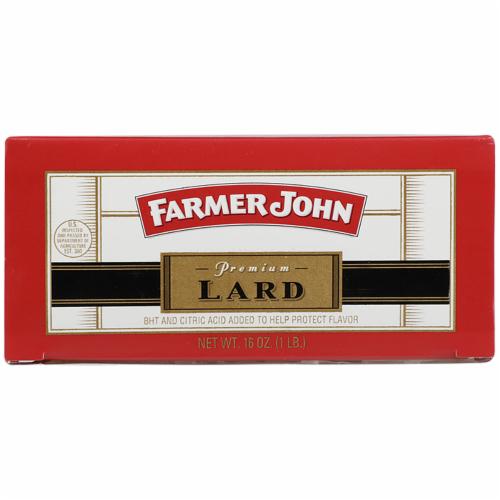 Farmer John Premium Manteca Lard Perspective: front