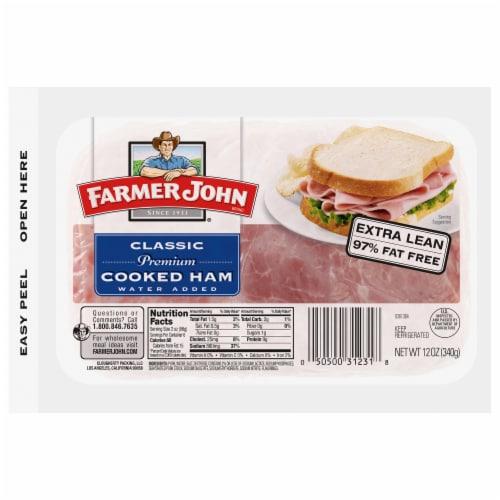 Farmer John Classic Premium Cooked Ham Perspective: front