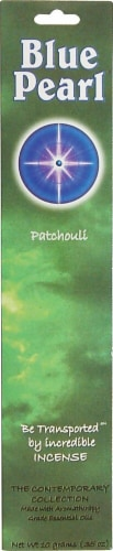 Blue Pearl Incense Patchouli Perspective: front