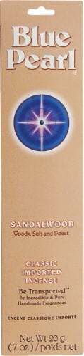 Blue Pearl Incense Sandalwood Perspective: front