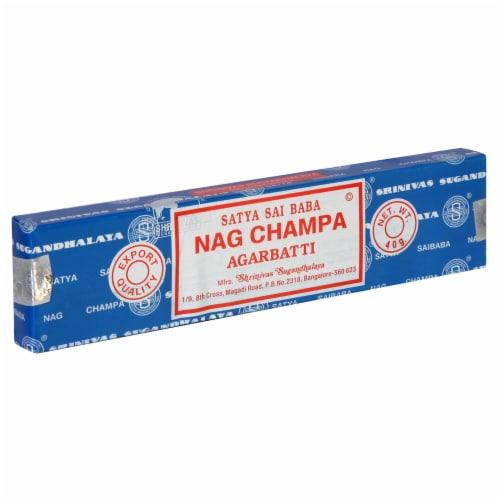 Satya Sai Baba Nag Champa Agarbatti Incense Perspective: front