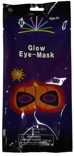 Klein International Glow Fun Pumpkin Eye Mask Perspective: front