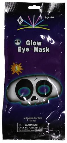 Klein International Glow Fun Skull Eye Mask Perspective: front