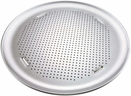 T-fal AirBake Aluminum Perforated Pizza Pan Perspective: front