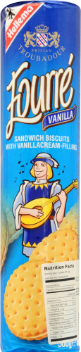 Fourre Vanilla Sandwich Biscuits Perspective: front