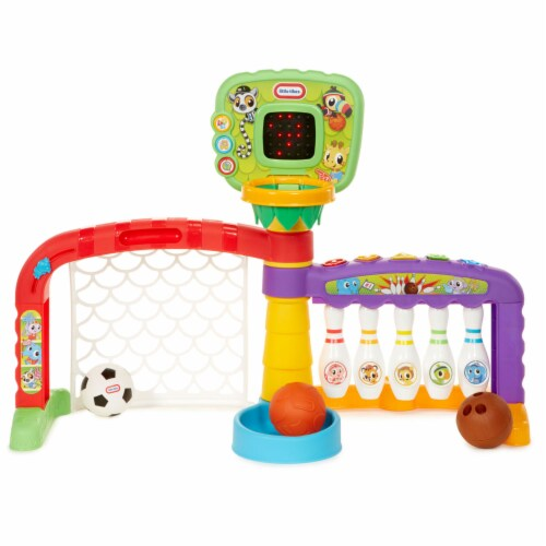 Little Tikes 643224P 3-in-1 Sports Zone Light Up Baby Toddler Toy with Sound Perspective: front