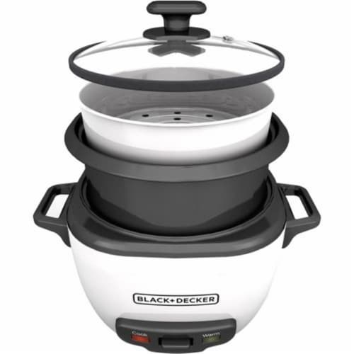 Applica RC516 Black-Decker 16-Cup Rice Cooker, White Out Perspective: front