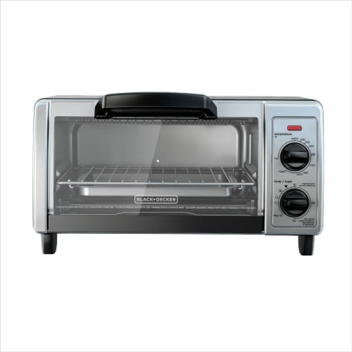 BLACK + DECKER Toaster Oven - Silver Perspective: front