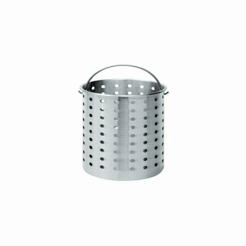 Barbour B120 Bayou Classic Aluminum Perforated Basket - 120 Quart Perspective: front
