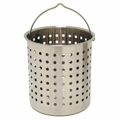 Barbour B160 Bayou Classic Stainless Perforated Basket - 62 Quart Perspective: front