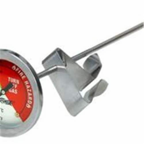 Bayou Classic 5020 5 Inch Stainless Thermometer Perspective: front