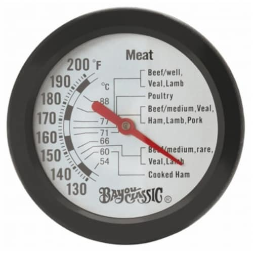 Bayou Classic 5026 Meat Thermometer Perspective: front