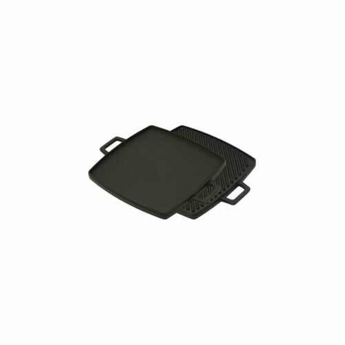 Bayou Classic 7444 10.5 in. Cast Iron Reversible Griddle Perspective: front