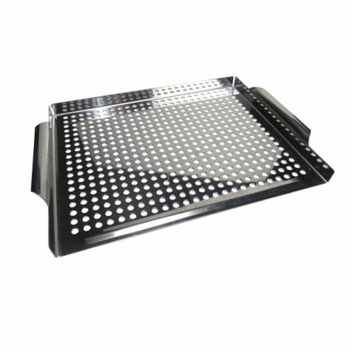 Bayou Classic 500-712 Stainless Steel Grill Topper Perspective: front