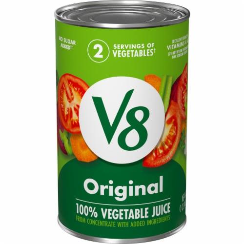V8 Original 100% Vegetable Juice Perspective: front