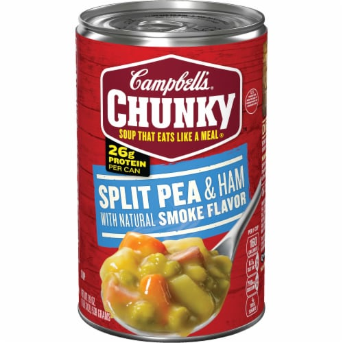 Campbell's Chunky Split Pea & Ham Soup Perspective: front