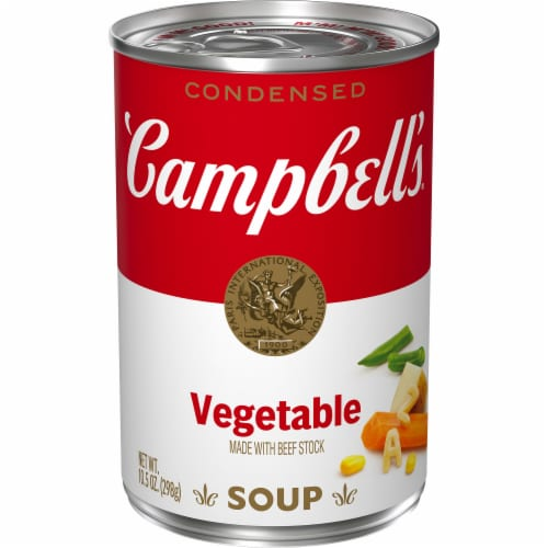 Campbell's Condensed Vegetable Soup Perspective: front