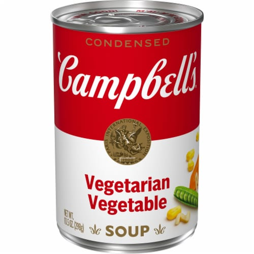Campbell's Vegetarian Vegetable Condensed Soup Perspective: front