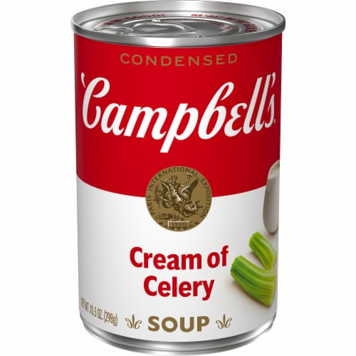 Campbell's Cream of Celery Condensed Soup Perspective: front