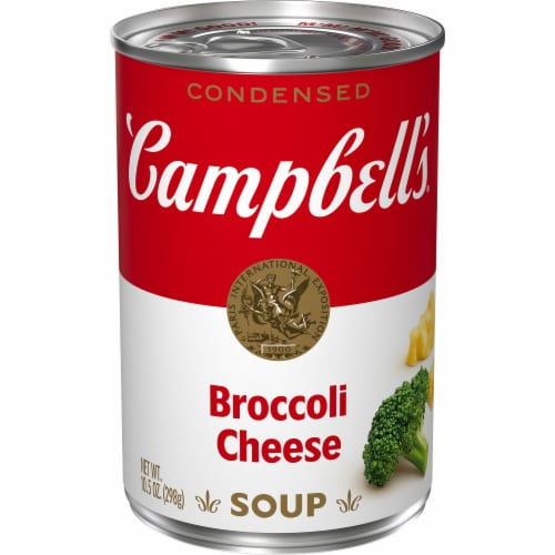 Campbell's Broccoli Cheese Condensed Soup Perspective: front