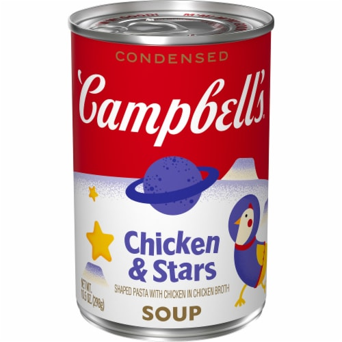 Campbell's Condensed Chicken & Stars Soup Perspective: front