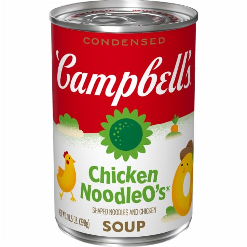 Campbell's Chicken Noodle O's Condensed Soup Perspective: front
