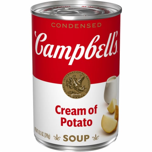Campbell's Cream of Potato Condensed Soup Perspective: front