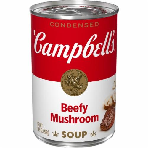 Campbell's Beefy Mushroom Condensed Soup Perspective: front