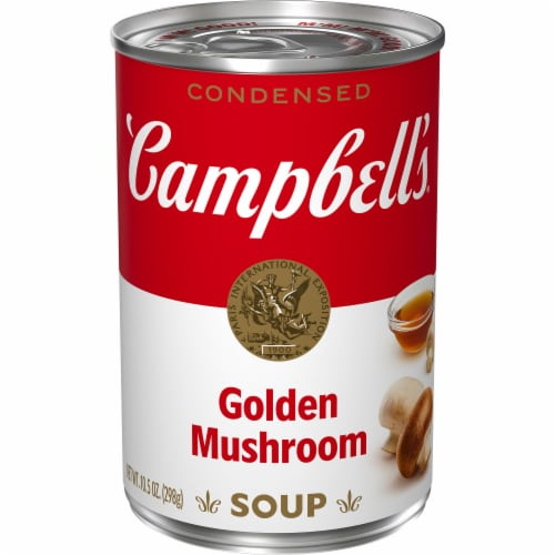 Campbell's Golden Mushroom Condensed Soup Perspective: front