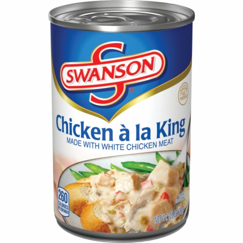 Swanson Chicken a La King Perspective: front