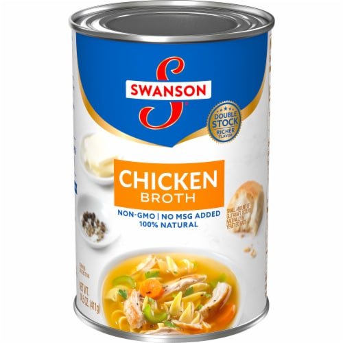 Swanson Natural Chicken Broth Perspective: front
