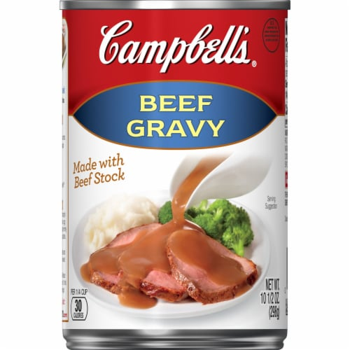 Campbells Beef Gravy Perspective: front