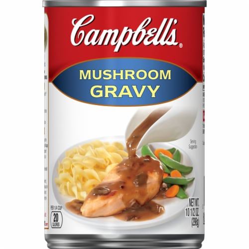Campbell's Mushroom Gravy Perspective: front